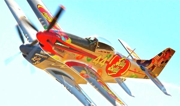 Jelly Belly Photograph - Air Racing Reno Style by Gus McCrea