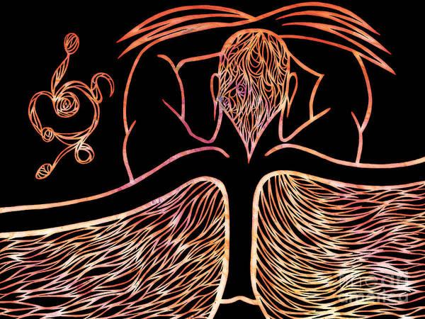 Wall Art - Digital Art - Fire Spirit by Jamie Lynn
