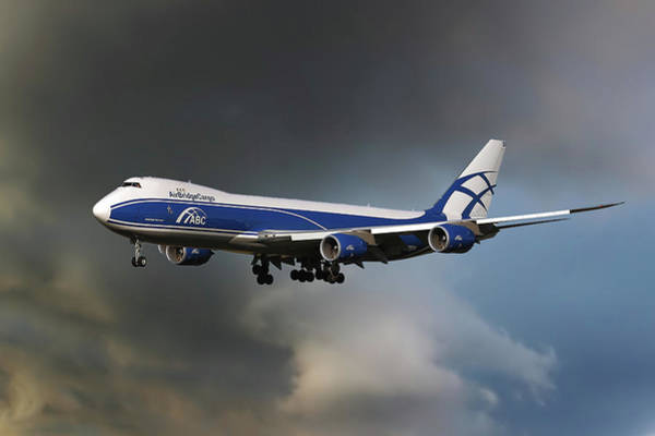 747 Wall Art - Photograph - Airbridge Cargo Boeing 747-8hvf by Smart Aviation