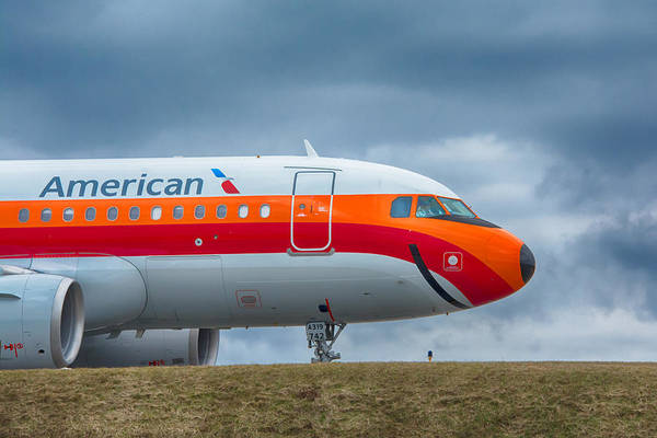 Photograph - Airbus A319-112 by Guy Whiteley
