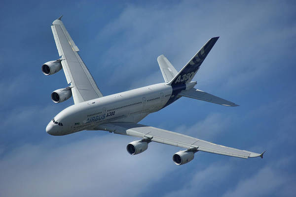 Wall Art - Photograph - Airbus A380 by Tim Beach