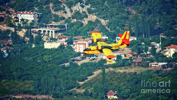 Photograph - Aircraft Firefighter  by Raimond Klavins
