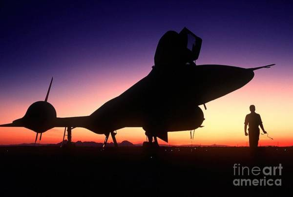 Painting - Aircraft Silhouette by Celestial Images