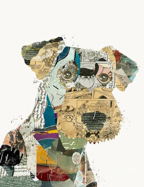 Terrier Painting - Airedale Terrier by Bri Buckley
