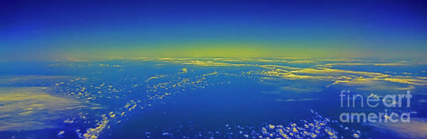 Photograph - Airliner Clouds  Somewhere Over The Pacific  by Tom Jelen