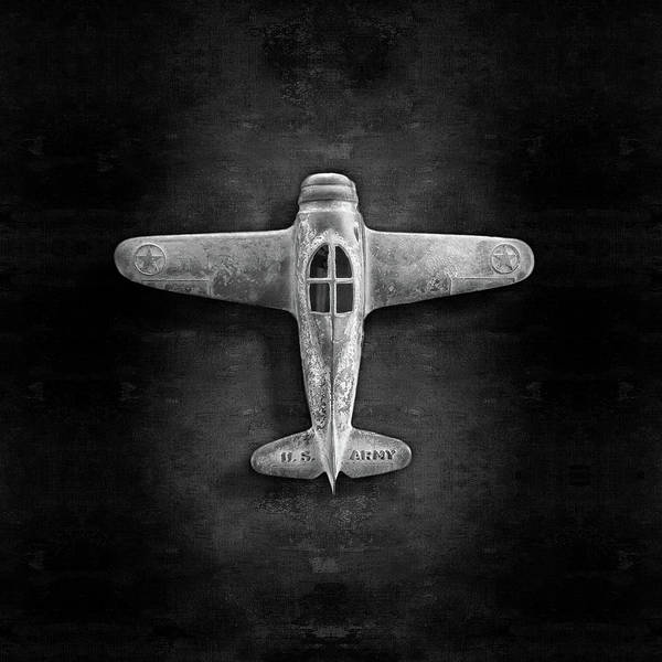 Wall Art - Photograph - Airplane Scrapper In Bw by YoPedro