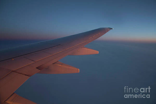 Photograph - Airplane Sunset by Donna L Munro