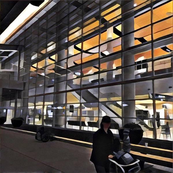 Photograph - Airport 1.30am by David Matthews