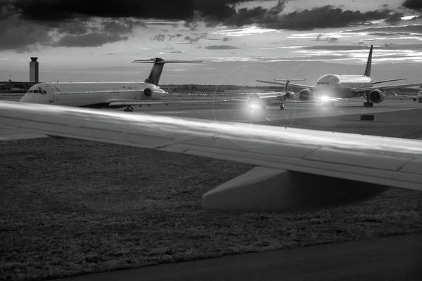 Wall Art - Photograph - Airport Tarmac by Steve Gadomski