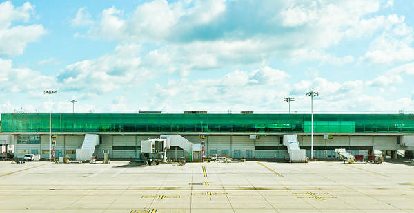 Apron Wall Art - Photograph - Airport Terminal by Tom Gowanlock