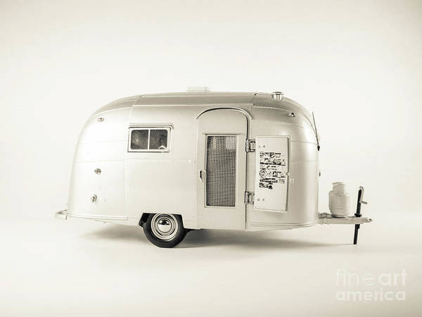 Wall Art - Photograph - Airstream Bambi Camper by Edward Fielding