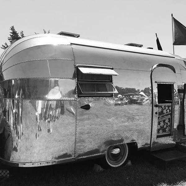 Photograph - #airstream #traveltrailer #vintage by Patricia And Craig