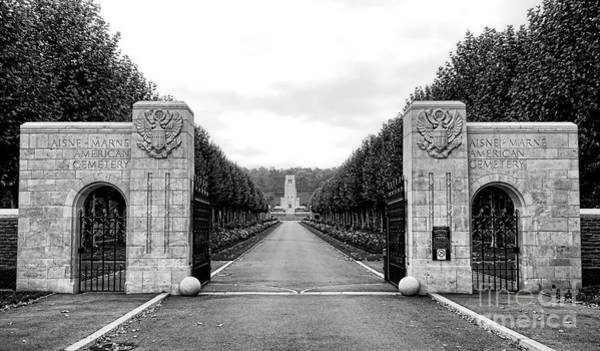 Photograph - Aisne Marne American Cemetery  by Olivier Le Queinec