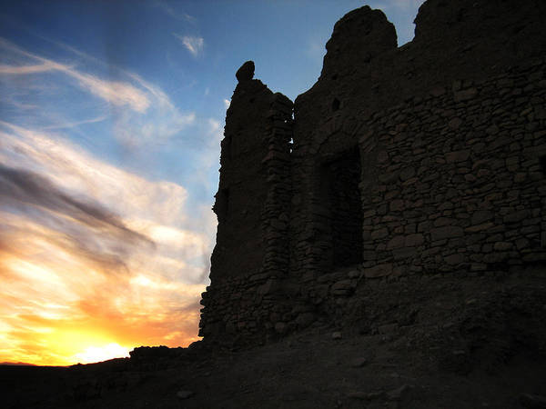 Casbah Photograph - Ait Benhaddou by Oliver Johnston
