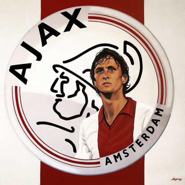 Painting - Ajax Amsterdam Painting by Paul Meijering