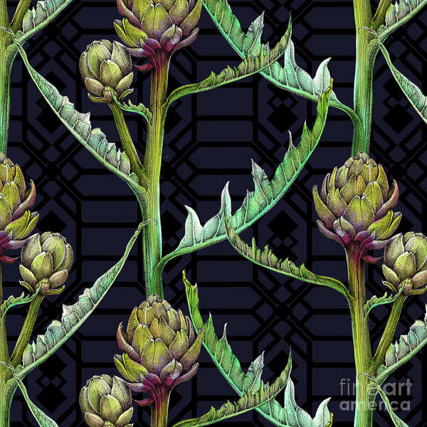 Wall Art - Painting - Artichoke by Andrew Watson