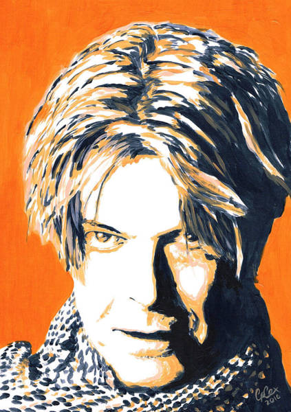 Chris Cox Painting - Aka Bowie by Chris Cox