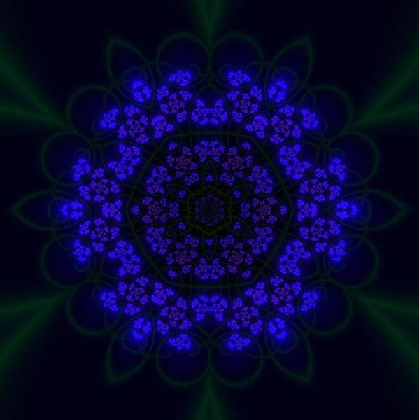 Digital Art - Akabala Lightmandala by Robert Thalmeier