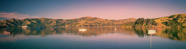 Photograph - Akaroa Harbor New Zealand by Joan Carroll