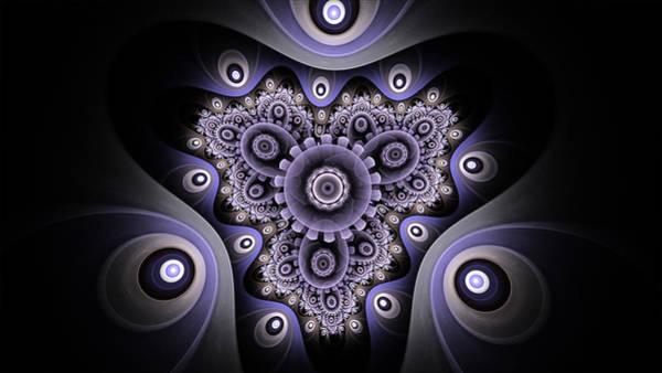 Digital Art - Akashic by Barbara A Lane