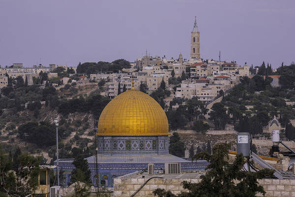 Cathedral Of Christ The Savior Photograph - Al Aqsa Mosque Dome by Alexander Fuza
