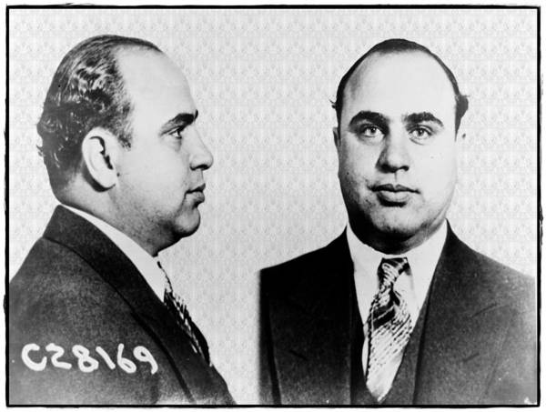 Photograph - Al Capone by Digital Reproductions