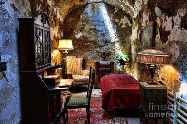 Jail Photograph - Al Capone's Cell - Scarface - Eastern State Penitentiary by Paul Ward