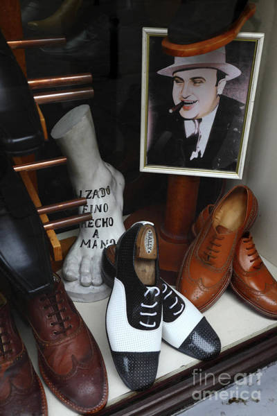 Photograph - Al Capone's Shoe Collection by James Brunker