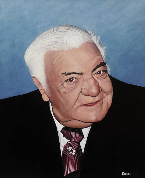 Painting - Elie Benyacar Aka Al Mucher by Kenneth M Kirsch