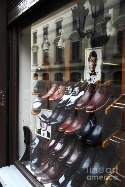 Photograph - Al Pacino's Shoe Collection by James Brunker