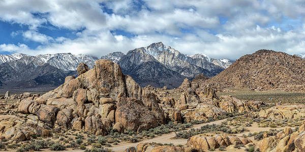 Photograph - Alabama Hills And The Sierra by Peter Tellone
