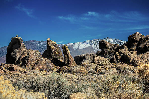 Photograph - Alabama Hills by Mark Jackson