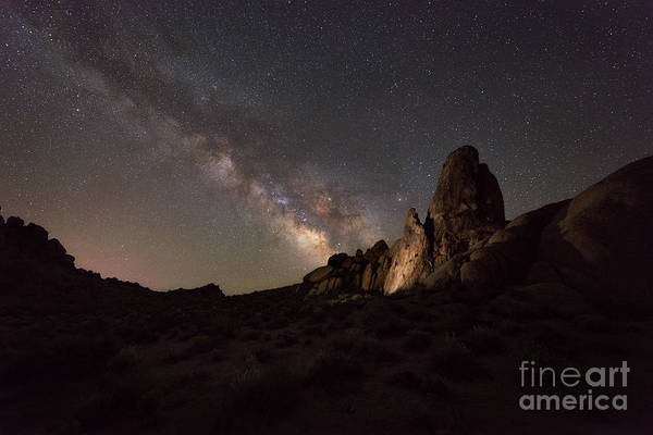 Wall Art - Photograph - Alabama Hills Milky Way  by Michael Ver Sprill
