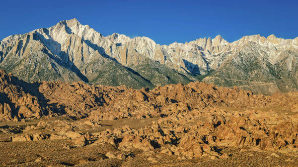 Photograph - Alabama Hills Sierra View by John Hight