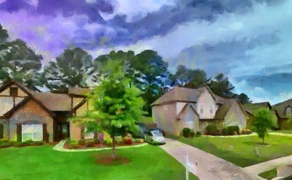 Digital Art - Alabama Homes by Caito Junqueira