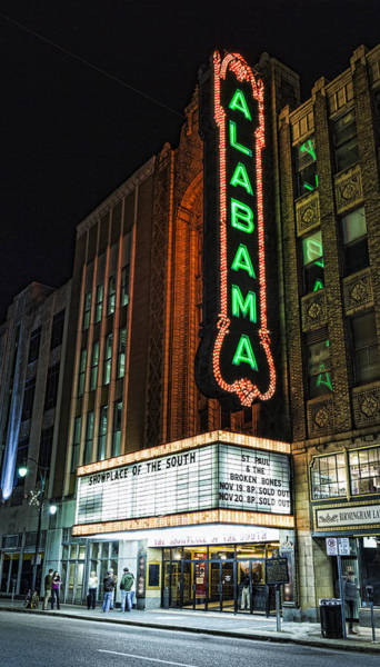 Birmingham Wall Art - Photograph - Alabama Theater by Stephen Stookey