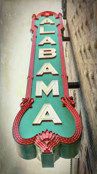 Wall Art - Photograph - Alabama Theatre #2 by Stephen Stookey