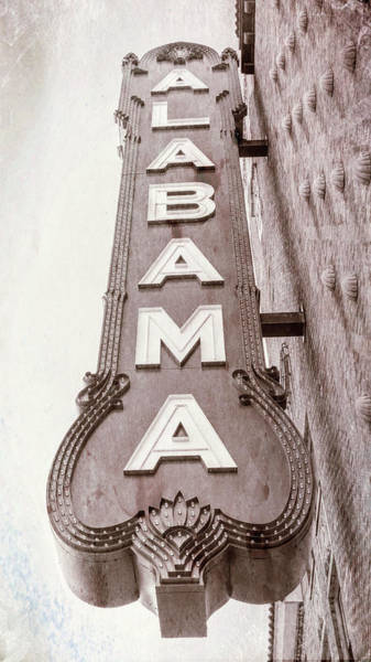 Wall Art - Photograph - Alabama Theatre #3 by Stephen Stookey