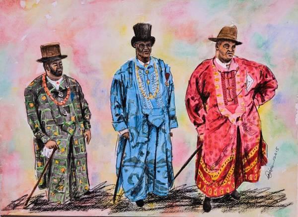 Nigeria Painting - Alabo IIi by Nimi Izulu