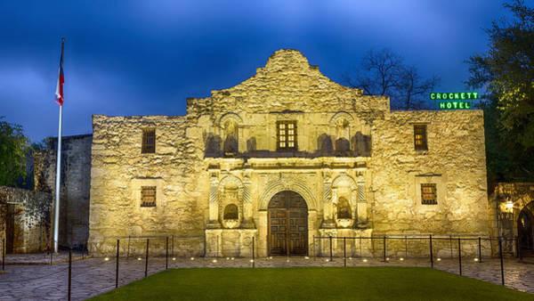 San Antonio Photograph - Alamo Dawn by Stephen Stookey