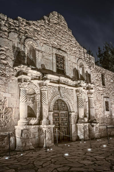 San-antonio Photograph - Alamo Door by Joan Carroll