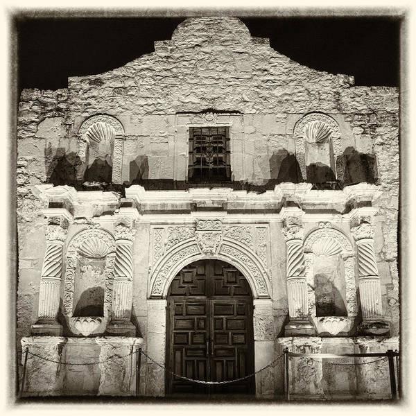 Wall Art - Photograph - Alamo Entrance by Stephen Stookey