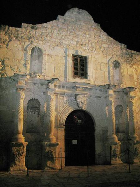 Photograph -  Alamo Silence  by Harriet Feagin