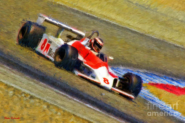 Photograph - Alan Post 's 1980 Mclaren M30  by Blake Richards