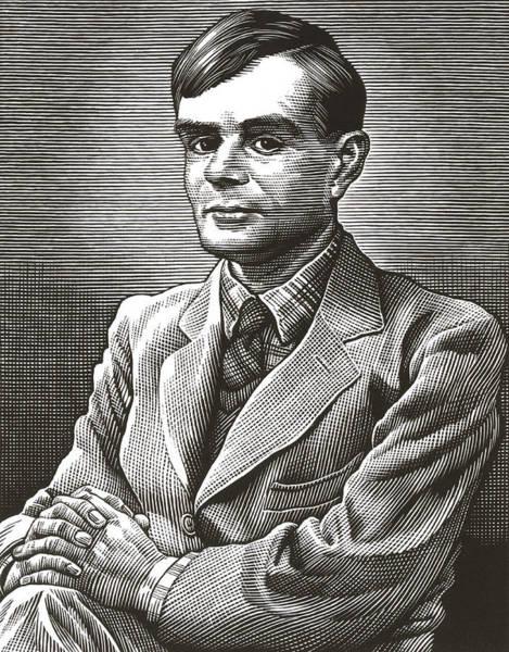 Code Breaker Wall Art - Photograph - Alan Turing, British Mathematician by Bill Sanderson