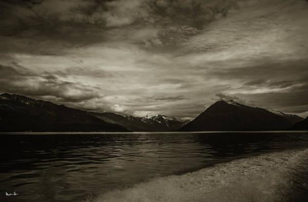 Wall Art - Photograph - Alaska Glacier In Sepia - 2015 by Madeline Ellis