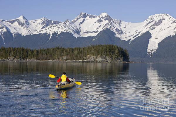 Expanse Photograph - Alask Kayaking by John Hyde - Printscapes