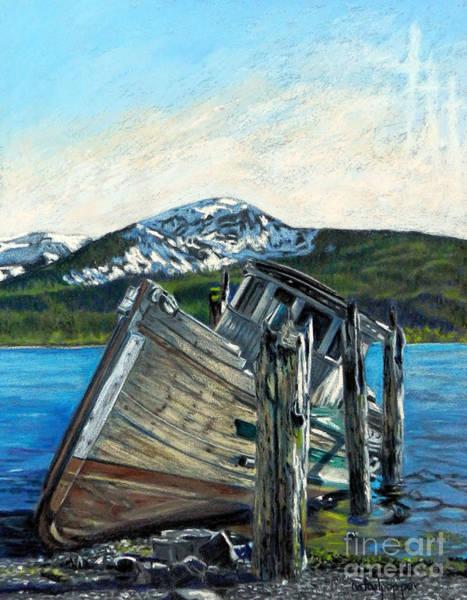 Faded Mixed Media - Alaska by Cat Culpepper
