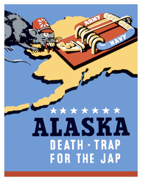 Wall Art - Painting - Alaska Death Trap by War Is Hell Store