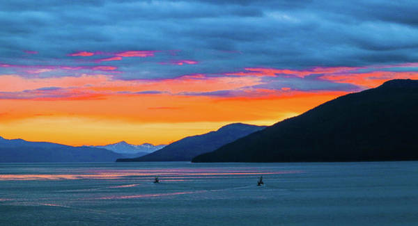 Alaska Fishermans Sunset Art Print